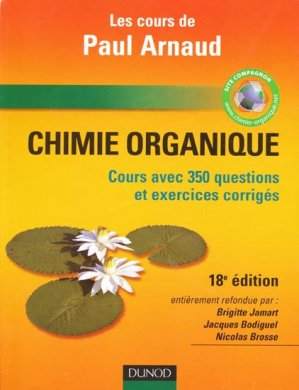 Chimie organique - dunod - 9782100526475