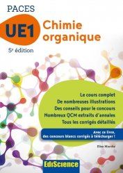 Chimie organique - UE1 PACES-édiscience-9782100748853