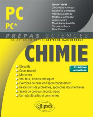 Chimie PC PC* - ellipses - 9782340020146