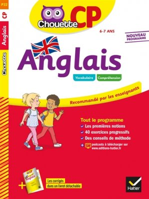 CHOUETTE ANGLAIS CP 2019 -hatier-9782401050488