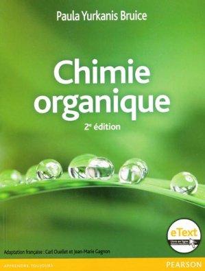 Chimie organique - pearson - 9782761349949