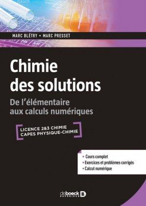 Chimie des solutions-de boeck-9782807323056