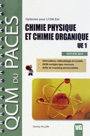 Chimie physique et chimie organique UE1-vernazobres grego-9782818312384