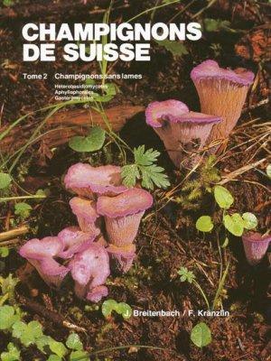 Champignons de Suisse Tome 2-mykologia luzern-9783856041205