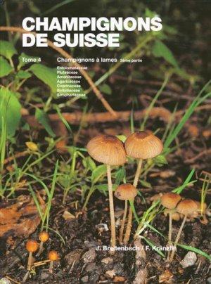 Champignons de Suisse Tome 4-mykologia luzern-9783856041403