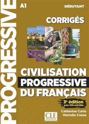 CIVILISATION PROGRESSIVE DU FRANCAIS-cle international-9782090381696
