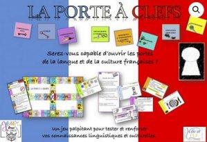 Coffret jeu LA PORTE A CLEFS-clic et fle-2225614769459