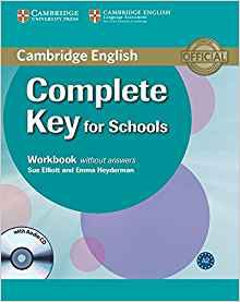 Complete Key for Schools - Workbook without Answers with Audio CD-cambridge-9780521124362
