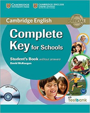 Complete Key for Schools - Student's Book without Answers with CD-ROM with Testbank-cambridge-9781107501546