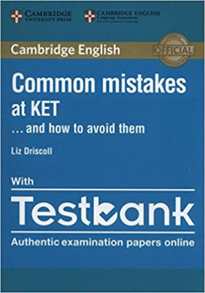 Common Mistakes at KET… and How to Avoid Them - Paperback with Testbank - cambridge - 9781316636176