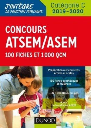 Concours ATSEM-ASEM 2019-2020 - dunod - 9782100790333