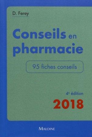 Conseils en pharmacie-maloine-9782224035389