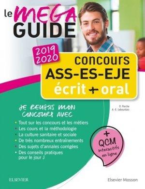 Concours ASS - ES - EJE Le Méga Guide 2019-2020-elsevier / masson-9782294760488