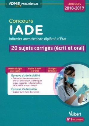 Concours IADE 2018 - vuibert - 9782311202649