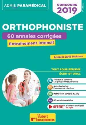 Concours orthophoniste 2019-vuibert-9782311205176
