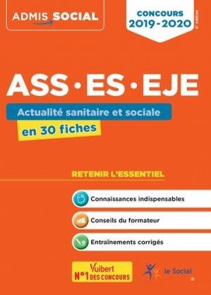 Concours ASS, ES, EJE 2019/2020 - vuibert - 9782311205374