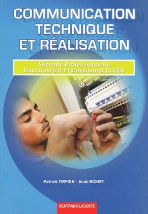 Communication technique et r alisation 2e professionnelle - Livre technique cuisine professionnel ...