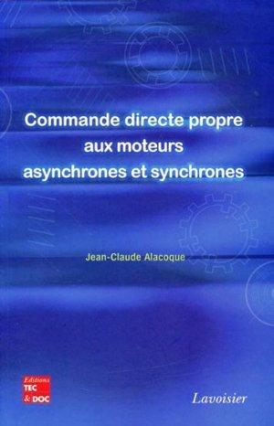 Commande directe propre aux moteurs asynchrones et synchrones-lavoisier / tec et doc-9782743012793