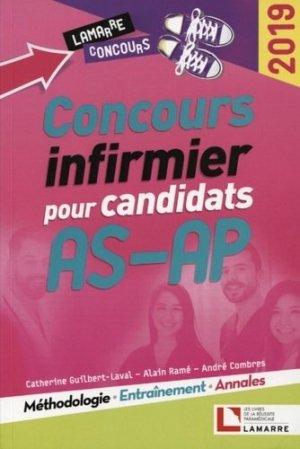 Concours infirmier pour candidats AS-AP 2019 - lamarre - 9782757310601