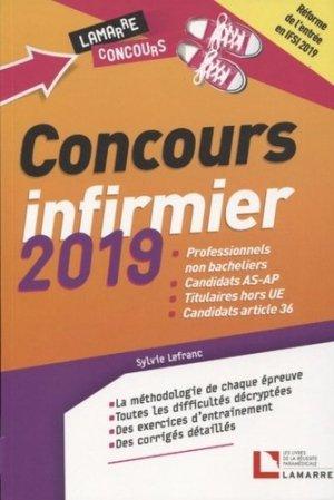 Concours infirmier 2019 - lamarre - 9782757310649