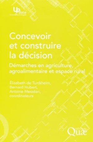 Concevoir et construire la décision - quae  - 9782759203659