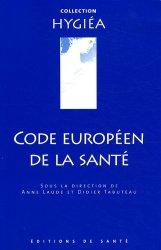 Code européen de la santé-de sante-9782864112310