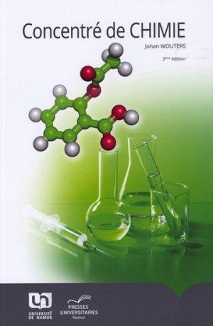 Concentré de chimie-presses universitaires de namur-9782870378892