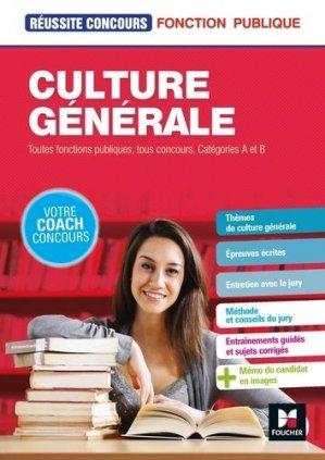 Culture générale - Tous concours - Préparation complète-foucher-9782216148981
