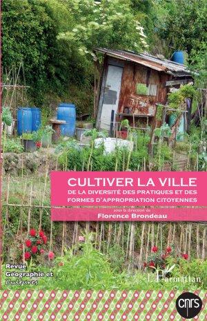 Cultiver la ville-l'harmattan-9782343136943