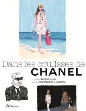 Dans les coulisses de Chanel - de la martiniere - 9782732486505