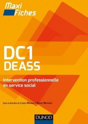DC1 DEASS Intervention professionnelle en service social - dunod - 9782100750221