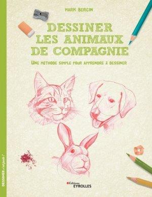 Dessiner les animaux de compagnie - Eyrolles - 9782212677775