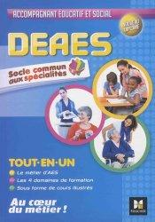 DEAES - Tout en un - Socle Commun-foucher-9782216146116