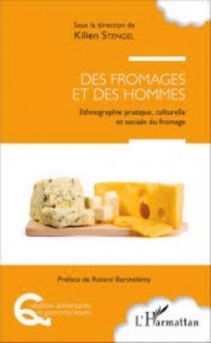 Des fromages et des hommes - l'harmattan - 9782343049250