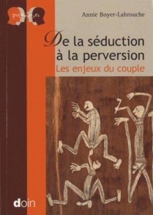 De la séduction à la perversion-doin-9782704013791
