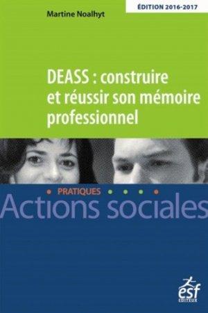 DEASS Construire et réussir son mémoire professionnel - esf - 9782710130017