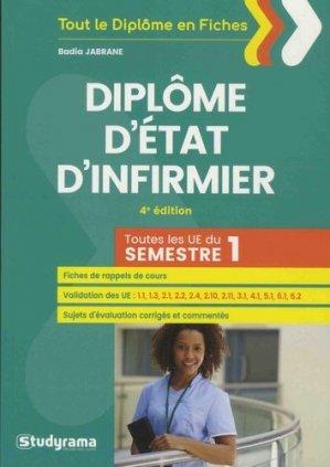 DEI - Diplôme d'Etat d'infirmier-studyrama-9782759038039