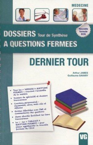 Dernier Tour - vernazobres grego - 9782818304648