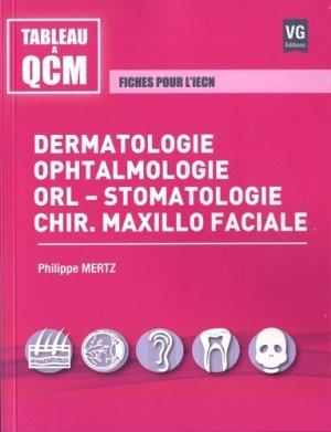 Dermatologie, ophtalmologie, orl-stomatologie, chir.maxillo faciale-vernazobres grego-9782818316443
