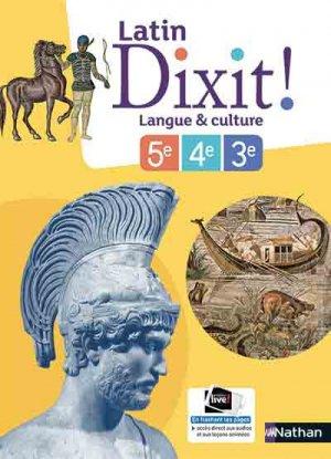 Dixit ! Manuel de latin Cycle 4-nathan-9782091717197