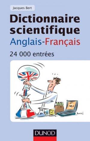 Dictionnaire scientifique anglais-français - dunod - 9782100553990