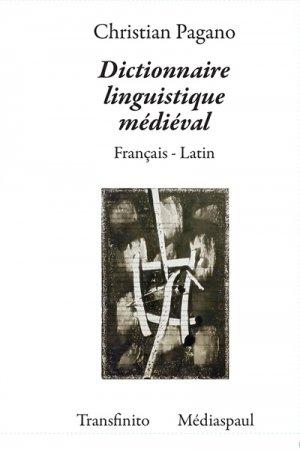 Dictionnaire Linguistique Médiéval - mediaspaul - 9782712214623