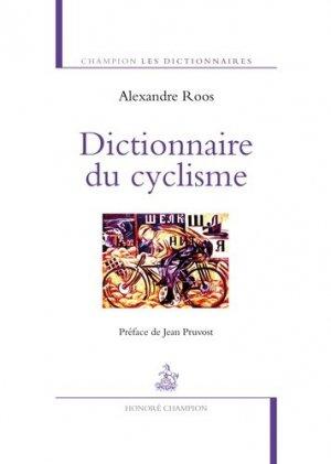 Dictionnaire du cyclisme-honore champion-9782745330123