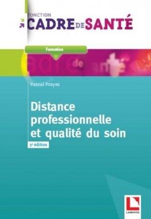 Distance professionnelle et qualité du soin-lamarre-9782757309797