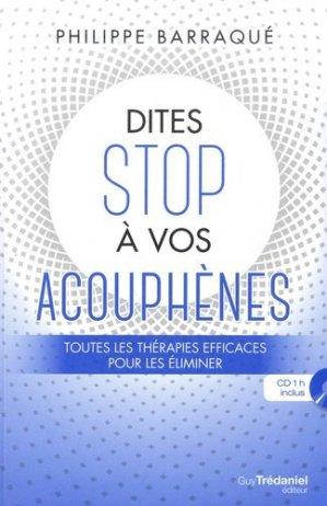 Dites stop à vos acouphènes-guy trédaniel-9782813219763