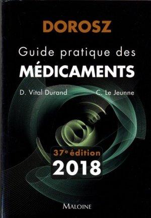 Dorosz 2018 - Guide pratique des médicaments-maloine-9782224035013
