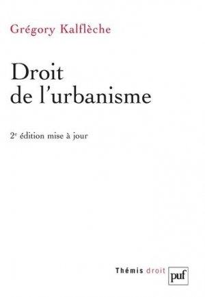 Droit de l'urbanisme - puf - 9782130749158