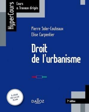 Droit de l'urbanisme - dalloz - 9782247178308