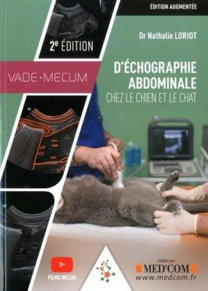 Échographie abdominale chez le chien et le chat - med'com - 9782354032630