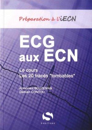 ECG aux ECN-s editions-9782356400109